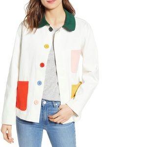 Ban.do NWT Color Pop Work Jacket - Size XXL